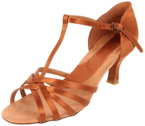 Capezio Women's Dancesport Ashley 2 Inch Sandal,Cinnamon,8.5 M US
