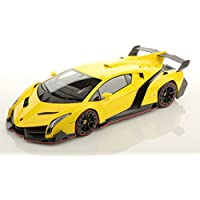 The Flyer's Bay Lamborghini Veneno Style Full Function Rechargeable Car With Door Opening Feature (Yellow)