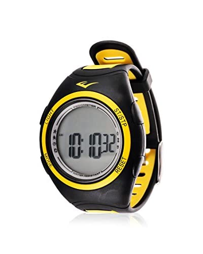Everlast Men's EVWPD003YE Yellow Pedometer Watch