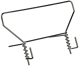 Fellowes Products - Fellowes - Wire Study Stand, Metal, 9 1/2 x 6 x 5 1/2, Silver - Sold As 1 Each - Supports books, catalogs, planners and more at comfortable reading angle. - Adjustable; folds flat for easy storage. - Contemporary wire design. - Rubber