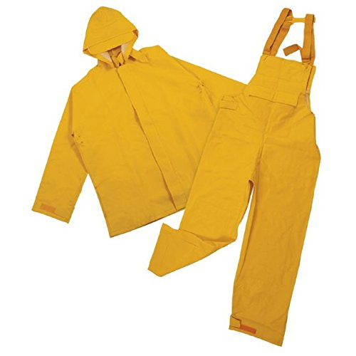 Stansport Commercial Rain Suit, Yellow, 3X-Large