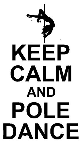Keep Calm and Pole Dance Dancer Rubber Stamps custom stamps rubber Rubber Stamps custom stamps rubber