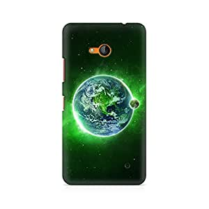Mobicture Green Earth Premium Printed Case For Nokia Lumia 640