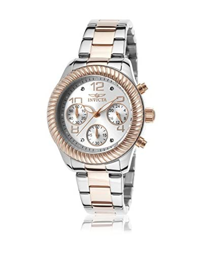 Invicta Women's 20269 Angel Rose Gold-Tone Stainless Steel Watch As You See