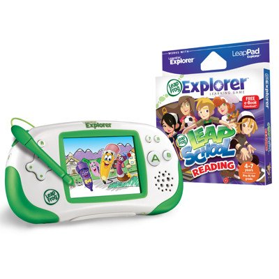 Leapfrog Leapster Explorer Leapschool Bundle back-44435