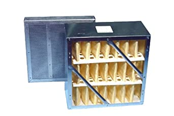 "Extract-All Primary Rigid Cell Filter with Final 2"" Refillable Carbon Module, For S-987-1, S-987-2A, and S-987-AMB Fume Extractors"
