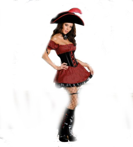 Whats Your Poison Pirate Xl Adult Womens Costume