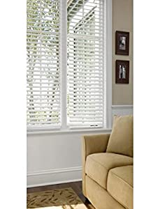 Better Homes And Gardens 2 Faux Wood Blinds White Home Kitchen