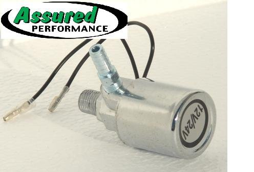 ELECTRIC AIR VALVE SOLENOID 12v/24v SOLID STATE-NO Plastic-PERFECT for Air Horns, Air Suspension, Air Tools