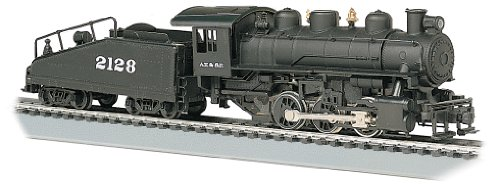 Bachmann Industries Usra 060 Locomotive With Smoke And Slope Tender S.Fe #2128 Ho Scale Train Car front-636038