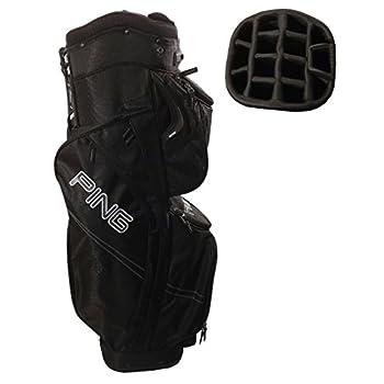 4552b3b7d8b Ping Traverse Cart Bag (Black 14-way Top 2013) Golf NEW - Mottaipammi