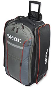 Buy Seac Sub Trolley Mate 550 HD Scuba Roller Backpack Dive Bag by Seac Sub