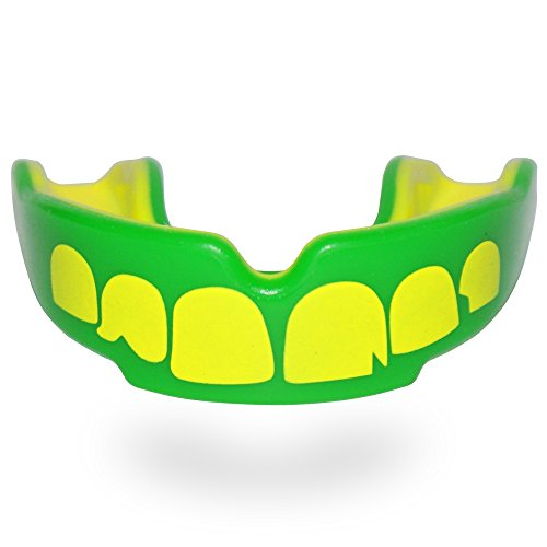 Safejawz Mouthguard Men / Junior, Taglia:Senior;Motif:Ogre