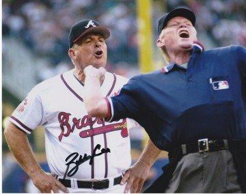 Bobby Cox Autographed / Hand Signed Atlanta Braves 8x10 Photo