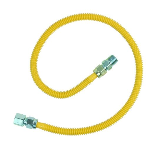 Cssd54-36 X 1/2 In. Fip X 1/2 In. Mip X 36 In. Procoatgas Appliance Connector 1/2 In. Od (71,100 Btu)Brasscraft Gas Connector -Yow