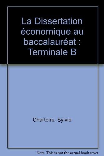 méthodologie dissertation économie