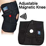 Adjustable Magnetic Knee Support - PATELLA SUPPORT with magnet therapy