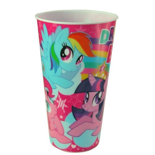 WeGlow International My Little Pony Theatre Tumbler (Set of 2), 17.9-Ounce - 1