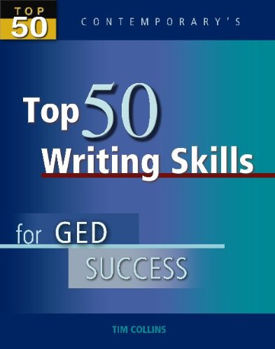 Top 50 Writing Skills for GED Success - Student Text Only (Top 50 Contemporary's)
