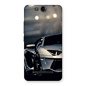 Royal Car Multicolor Back Case Cover for Micromax Canvas Juice 3 Q392