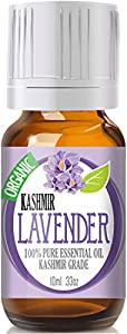 ★ #1 Best Lavender Essential Oil ★ 10ml Rare Premium KASHMIR Grade, 100% Pure, Organic and Highly Effective • Stay Young and Living Well Now with Lavender Oil Fragrance, Good for Aromatherapy, Sleep, Bath, Relaxing, Linen, Massage, Hair, Wellness - Compare to Doterra and Now Sets. 100% Satisfaction or Money Back Guarantee