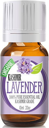 ★ #1 Best Lavender Essential Oil ★ 10Ml Rare Premium Kashmir Grade, 100% Pure, Organic And Highly Effective • Stay Young And Living Well Now With Lavender Oil Fragrance, Good For Aromatherapy, Sleep, Bath, Relaxing, Linen, Massage, Hair, Wellness - Compar