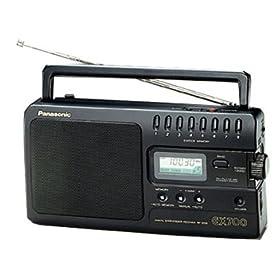 Panasonic 3700EB9-K Portable Radio - FM/MW/LW Digital Tuner
