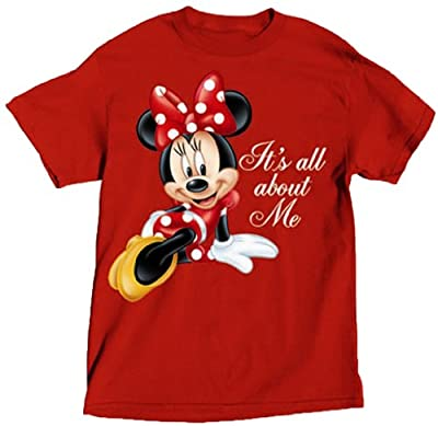 Disney Women's All About Minnie T Shirt