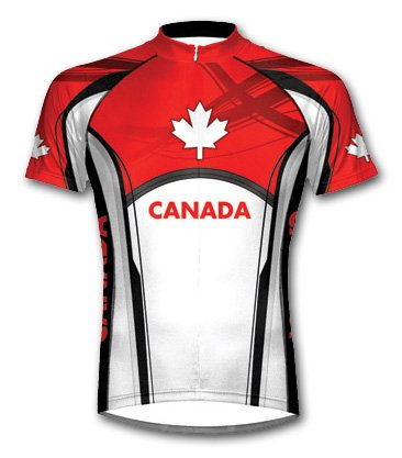 Buy Low Price Primal Wear Canada Shortsleeve Cycling Jersey Choice of Size (B004BUW94A)