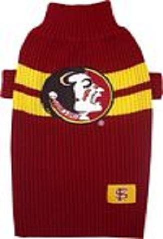 Florida State Seminoles Dog Pet Sweater ★ All Sizes ★ Licensed Ncaa (Xs)