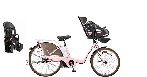 2015年モデル Panasonic【パナソニック】 Gyutto DX【ギュット DX】 26インチ電動自転車 +純正リヤチャイルドシート(NCD366AS) (エアリーピンク)