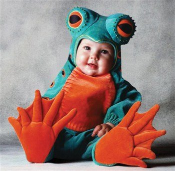 Tom Arma Frog Toddler Costume