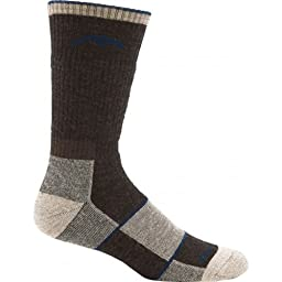 Darn Tough Vermont Merino Wool Boot Full Cushion Sock (Chocolate, Medium 8-9.5)