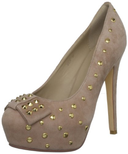 Dollybird Women's Speck Nude Platforms Heels 12Dbw037 7 UK, 40 EU