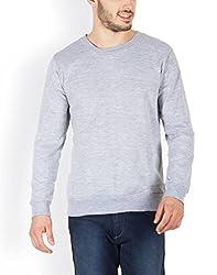 Incynk greyFlip men Grey Plain Casual Flip blazer