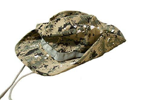 Outdoor Boonie Style Sun Hat for Fishing and Hiking (Green Digital Camo) (Digital Hat compare prices)