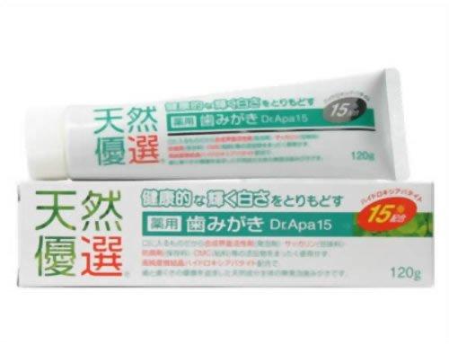 薬用歯みがき 天然優選 Dr.Apa15 120g