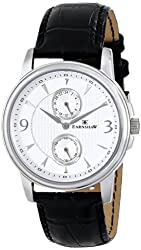 Thomas Earnshaw Men's ES-8026-02 Flinders Analog Display Japanese Quartz Black Watch