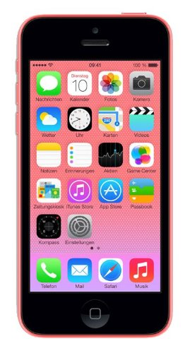 Apple Iphone 5c 32gb Sim Free Unlocked Mobile Phone - Pink New Retail...