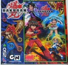 Bakugan Battle Brawlers 250 Piece Puzzle - Dan