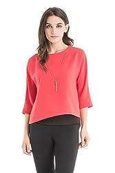 Kazo Women's Body Blouse Shirt (107644SNKTCLxs)