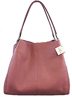 Madison Small Phoebe Shoulder Bag In Leather Amazon 95