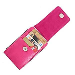 DooDa PU Leather Pouch Case Cover With Magnetic Closure For iBall Andis Stallion