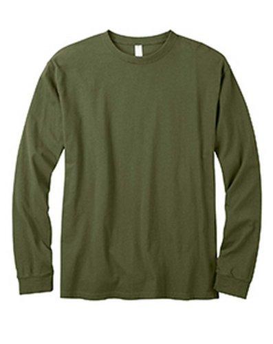 Econscious Ec1500 Mens Classic T Shirt. - Olive - L front-293945