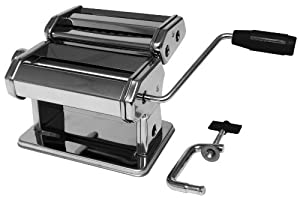 Metro Italian Style Pasta Maker - Silver Finish by Metro Fulfillment House