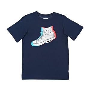 Converse 3-d Sneaker T-shirt - Converse Navy