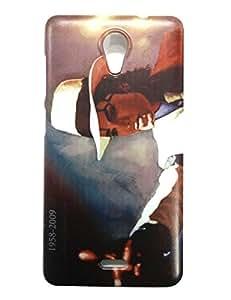 Designer Hard Back Cover Case For Micromax Unite 2 A106 (MultiColor)
