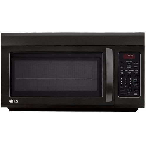 LG OTR 1.8 CF 1100-Watt Microwave, Black
