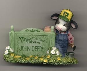 Amazon.com: MARY'S MOO MOO JOHN DEERE SIGNAGE FIGURINE: Home & Kitchen