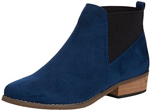 DolcisDolcis Janet - Stivaletti donna , Blu (Blu (Blue)), 38